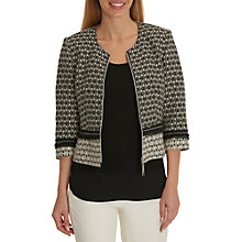 Buy Betty Barclay Tapestry Jacket, Black/Crea Online at johnlewis.com