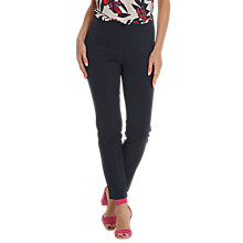 Buy Betty Barclay Slim Fit Stretch Tailored Trousers, Dark Sky Online at johnlewis.com