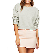 Buy Miss Selfridge Pelmet Mini Skirt, Pale Pink Online at johnlewis.com