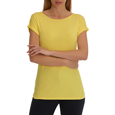 Betty Barclay Cap Sleeve T-Shirt, Yellow Sun