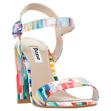 Buy Dune Block Heeled Sandals, Multi Online at johnlewis.com