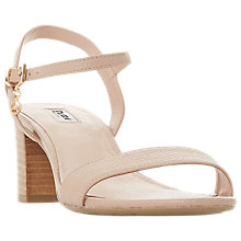 Buy Dune Jiggle Block Heel Sandals Online at johnlewis.com