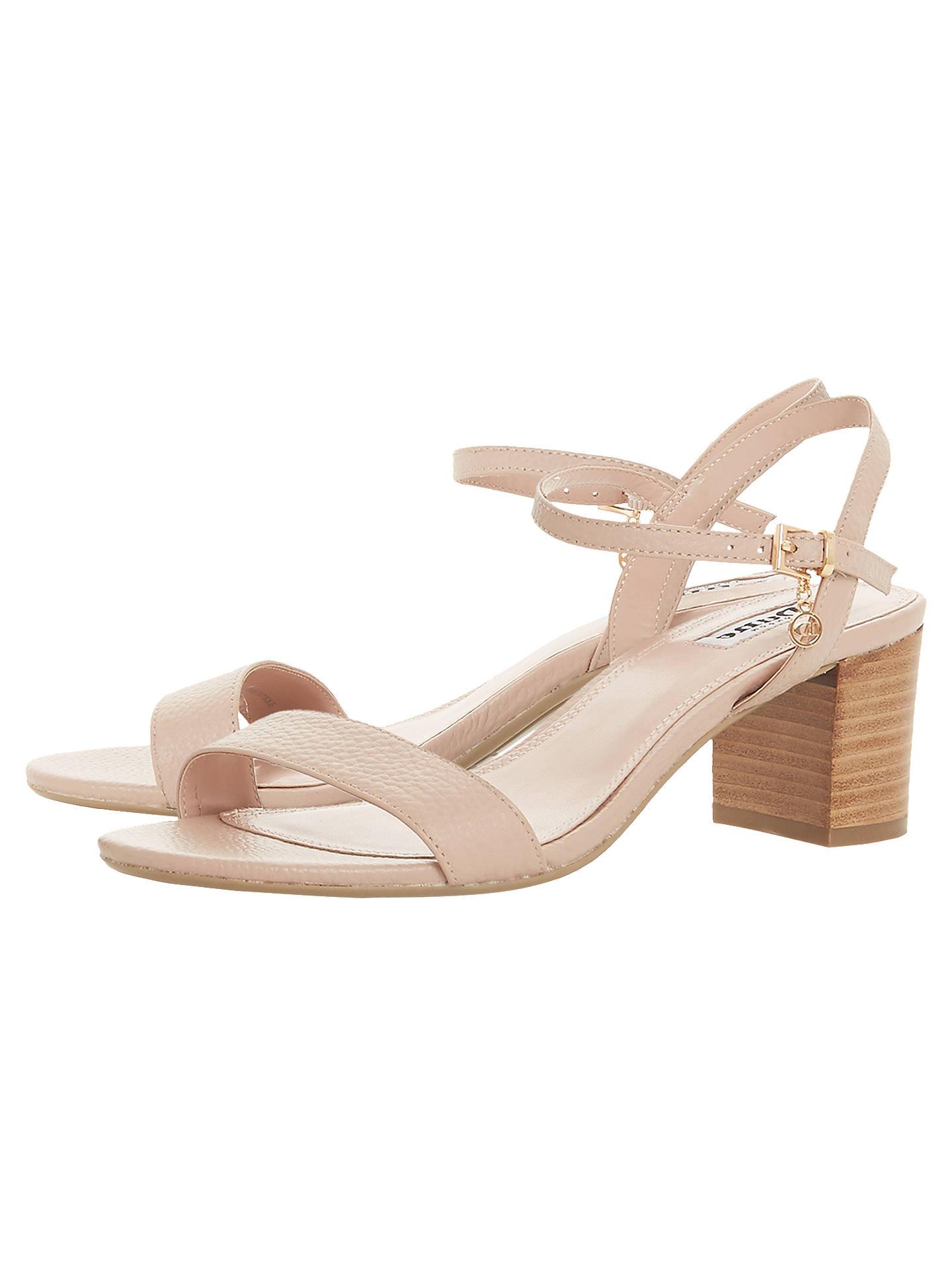 96a0b1e0877 Dune Jiggle Block Heel Sandals at John Lewis   Partners