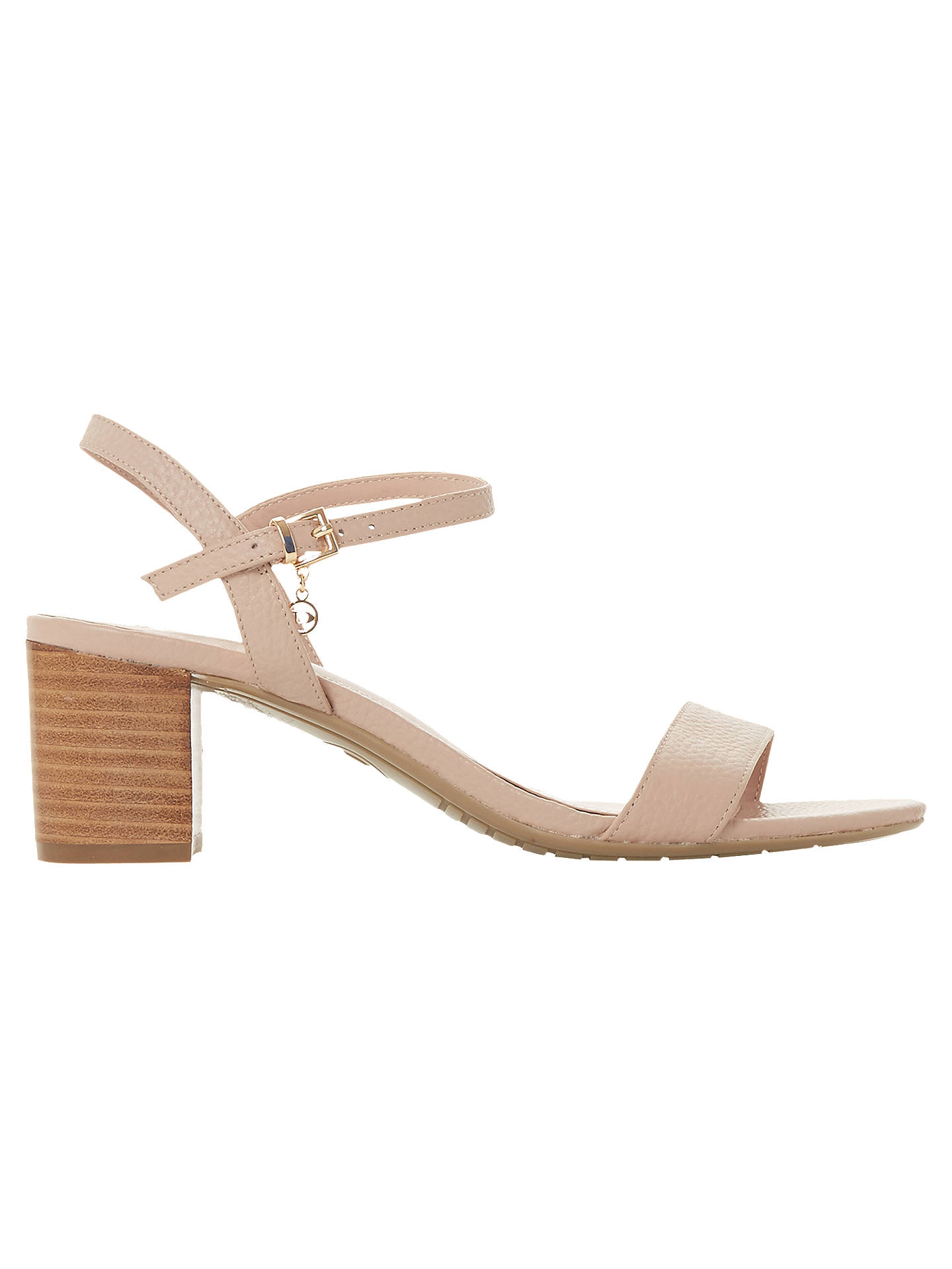 907aff80ebdd Dune Jiggle Block Heel Sandals at John Lewis   Partners
