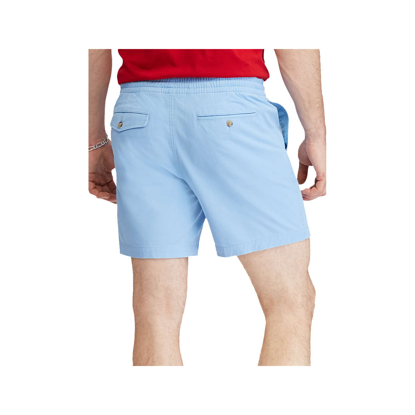 BuyPolo Ralph Lauren Classic Fit Polo Prepster Shorts, Blue Lagoon, S Online at johnlewis.com