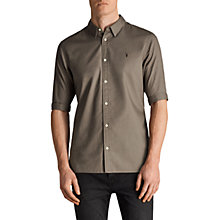 Buy AllSaints Redondo Slim Fit Short Sleeve Shirt Online at johnlewis.com