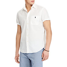Buy Polo Ralph Lauren Seersucker Short Sleeve Shirt Online at johnlewis.com