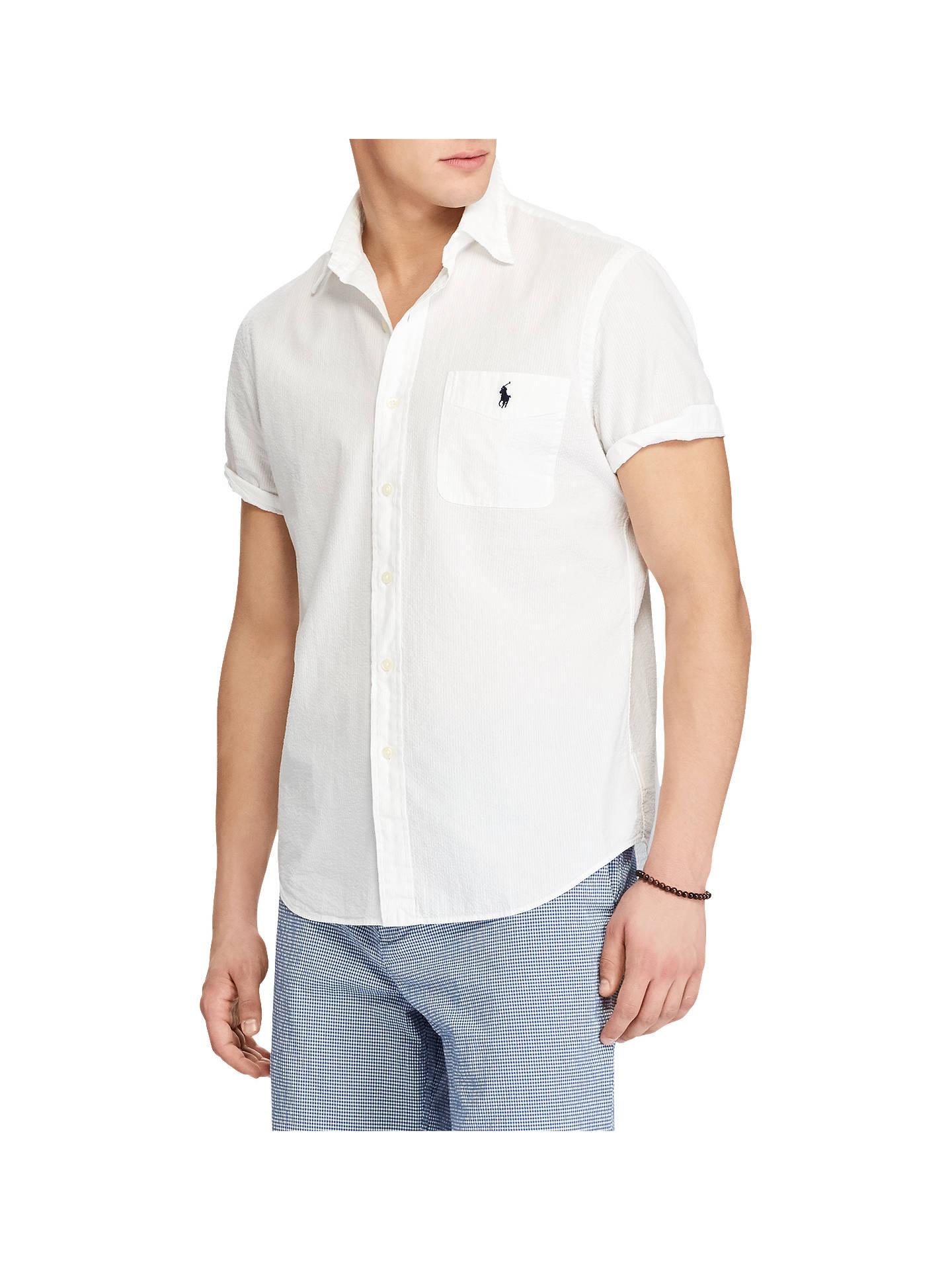e9c8e047739 Polo Ralph Lauren Seersucker Short Sleeve Shirt at John Lewis   Partners