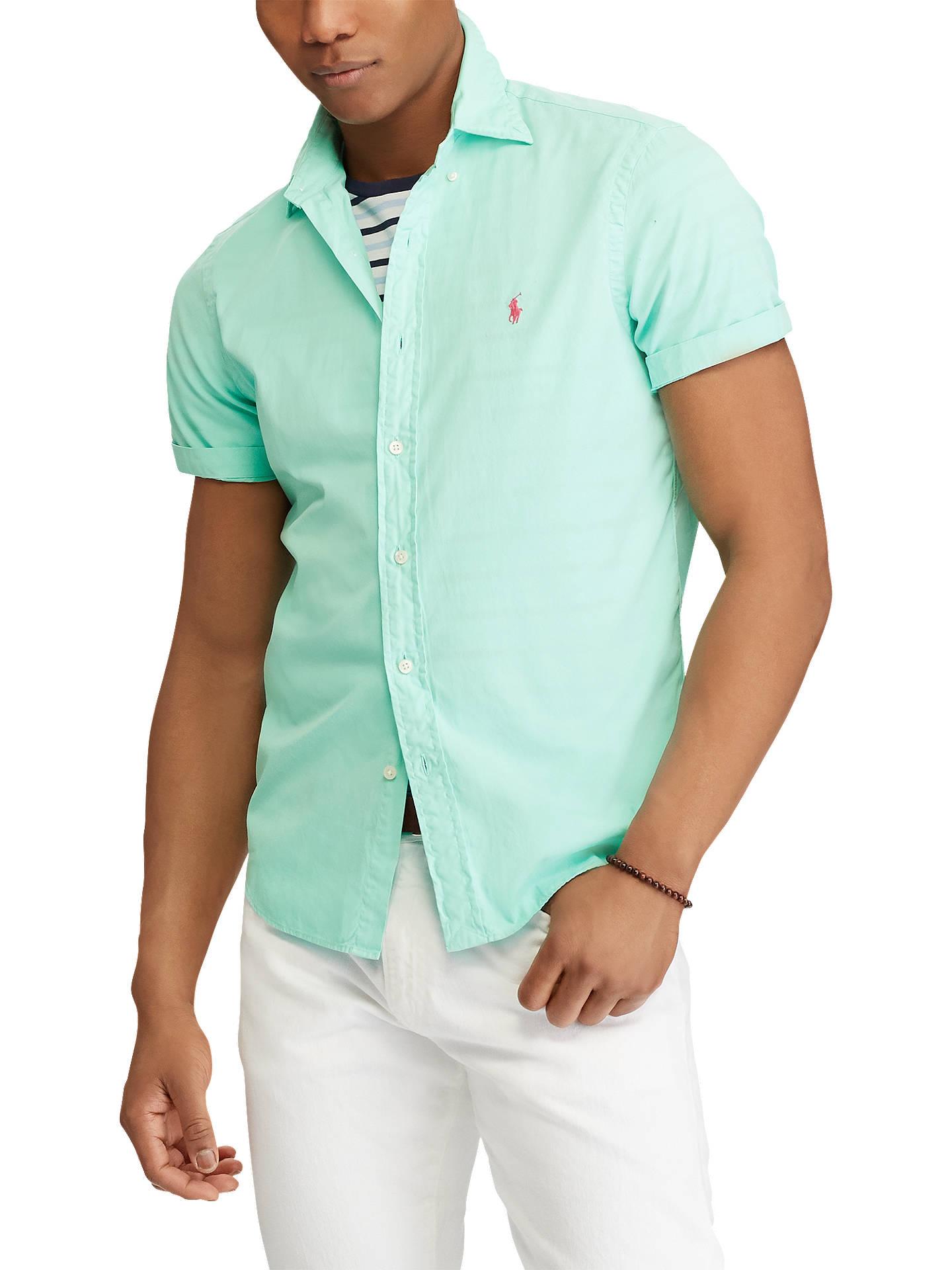 At Lewisamp; Shirt Polo Ralph Partners Lauren John Short Slim Fit Sleeve eWIYD29EH