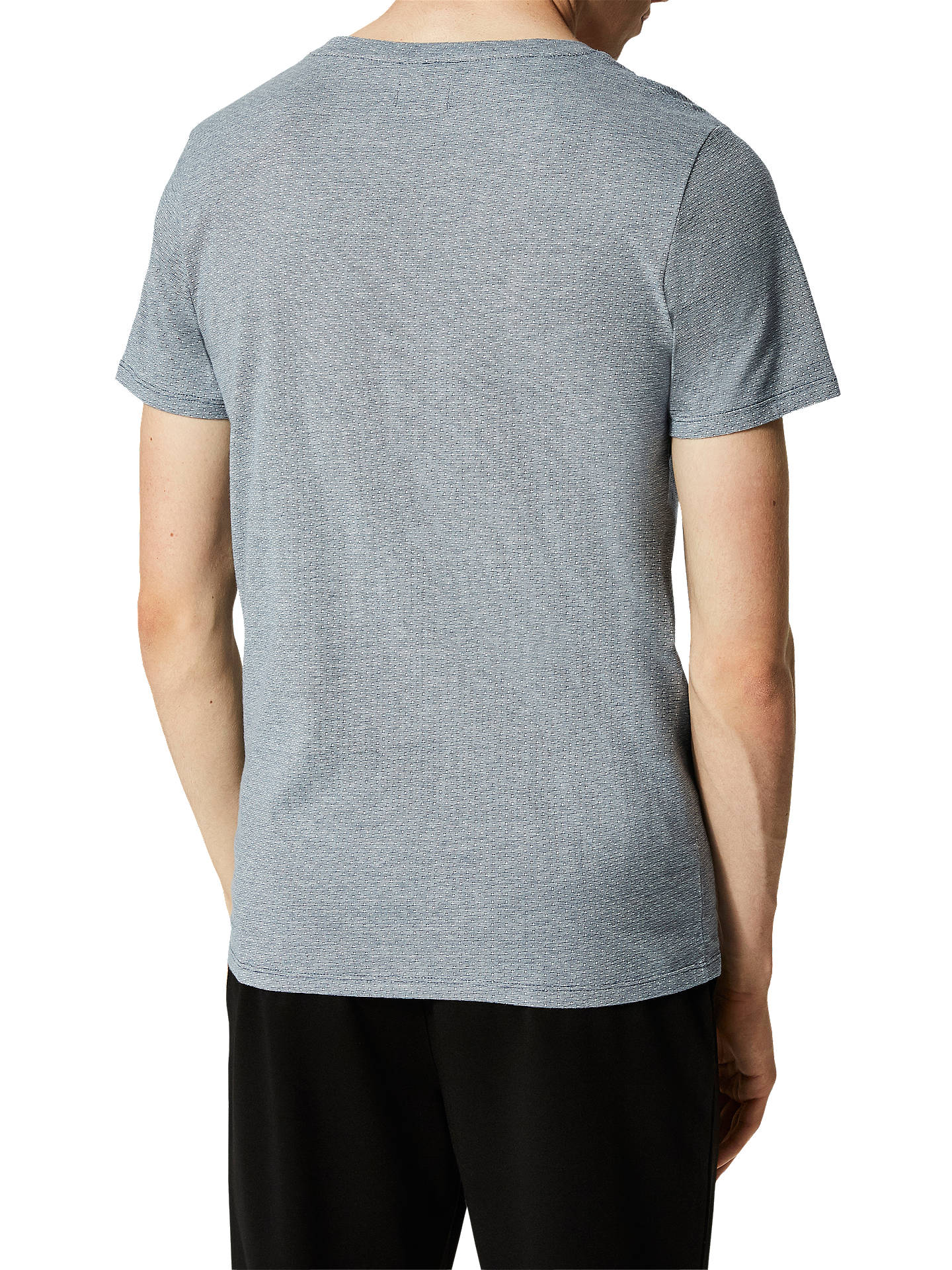 BuySelected Homme Pete Dot T-Shirt, Ensign Blue, S Online at johnlewis.com