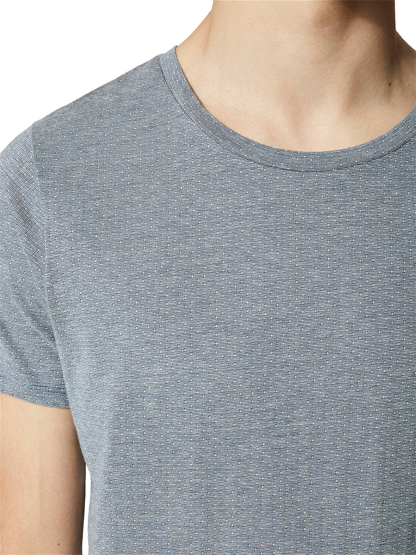 Buy Selected Homme Pete Dot T-Shirt, Ensign Blue, S Online at johnlewis.com