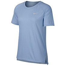 Buy Nike Breathe Tailwind Short Sleeve Running Top Online at johnlewis.com