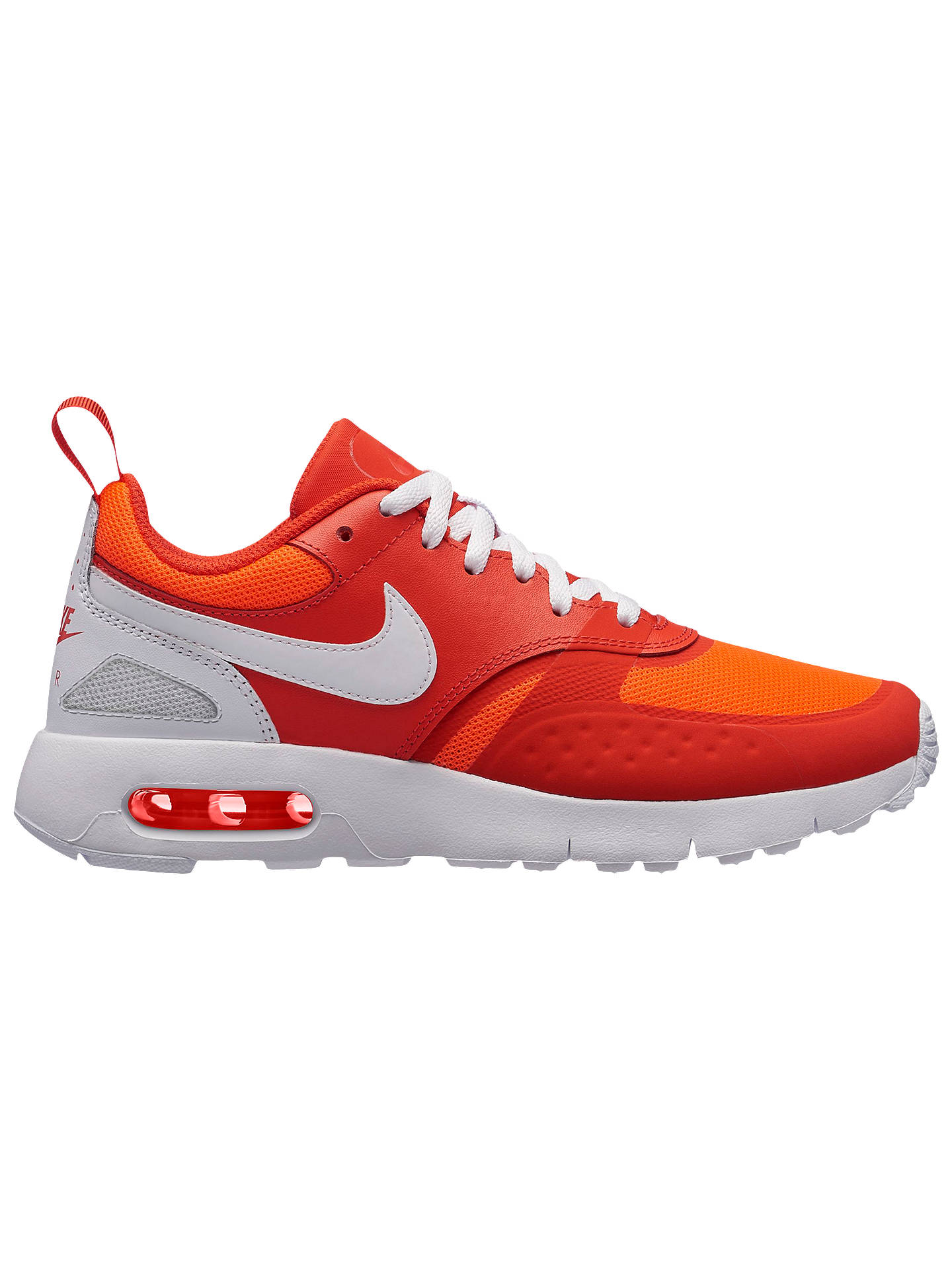 d0eb91b501 Buy Nike Children's Air Max Vision GS Trainers, Red, 3 Online at johnlewis.