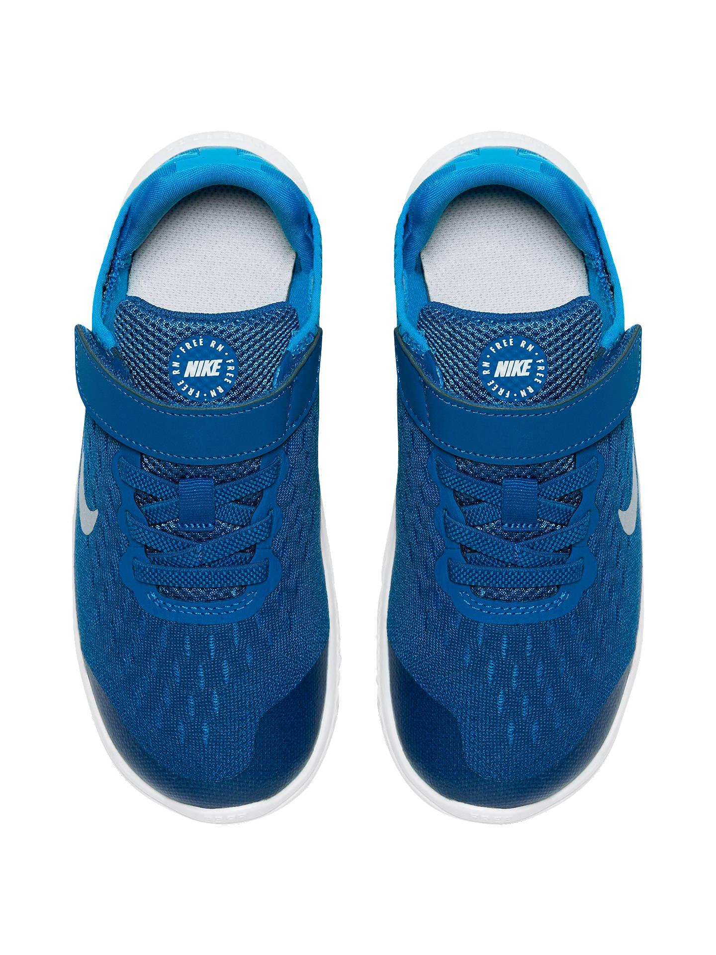 new concept 27b58 1c9b6 Nike Children's Free RN 2018 Riptape Trainers at John Lewis ...