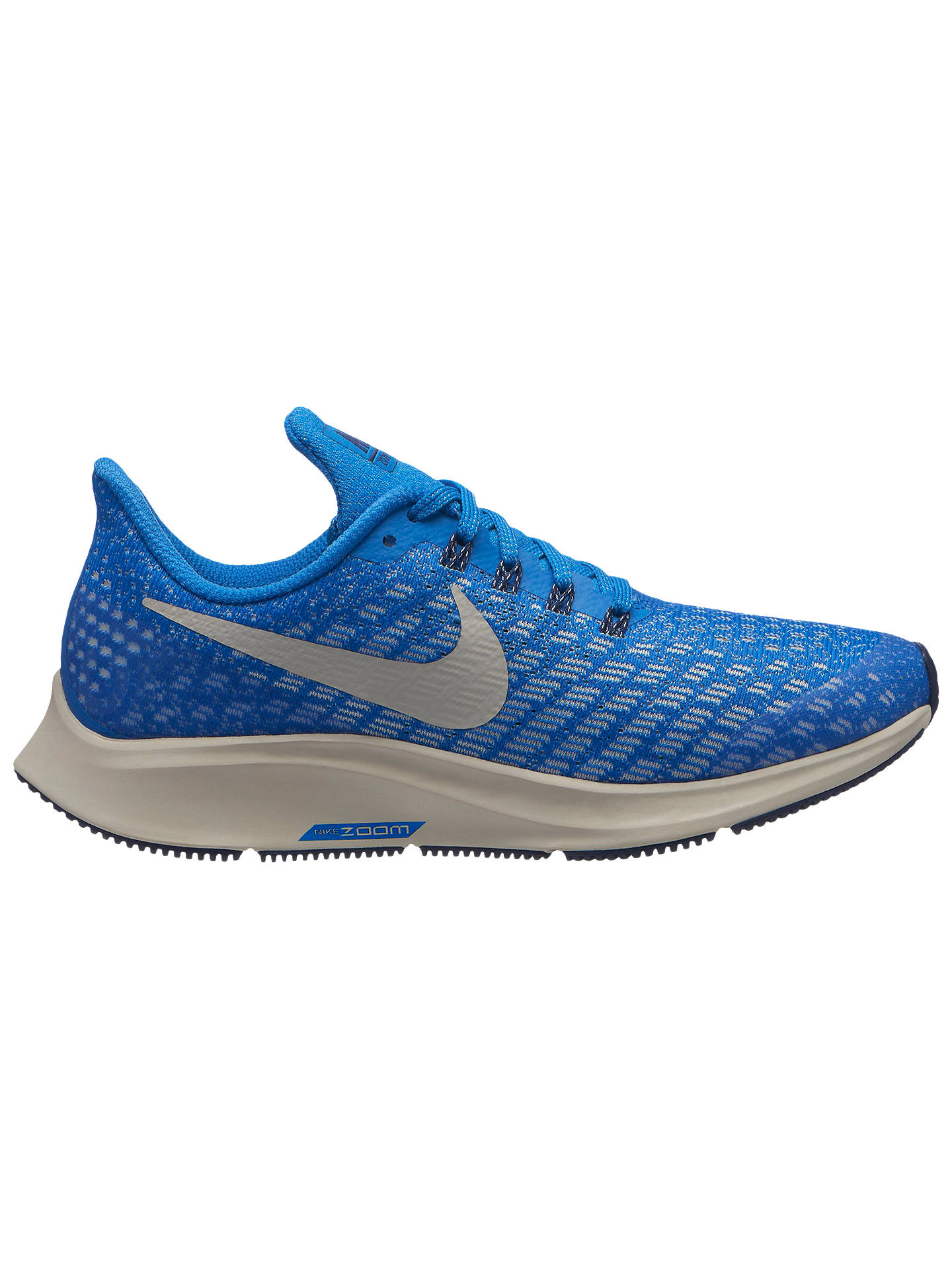 BuyNike Childrens Air Zoom Pegasus 35 Running Shoes, Blue, 1 Online at  johnlewis.