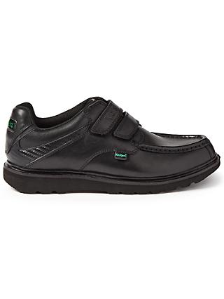 Kickers Children's Kick C Lite Riptape Shoes, Black