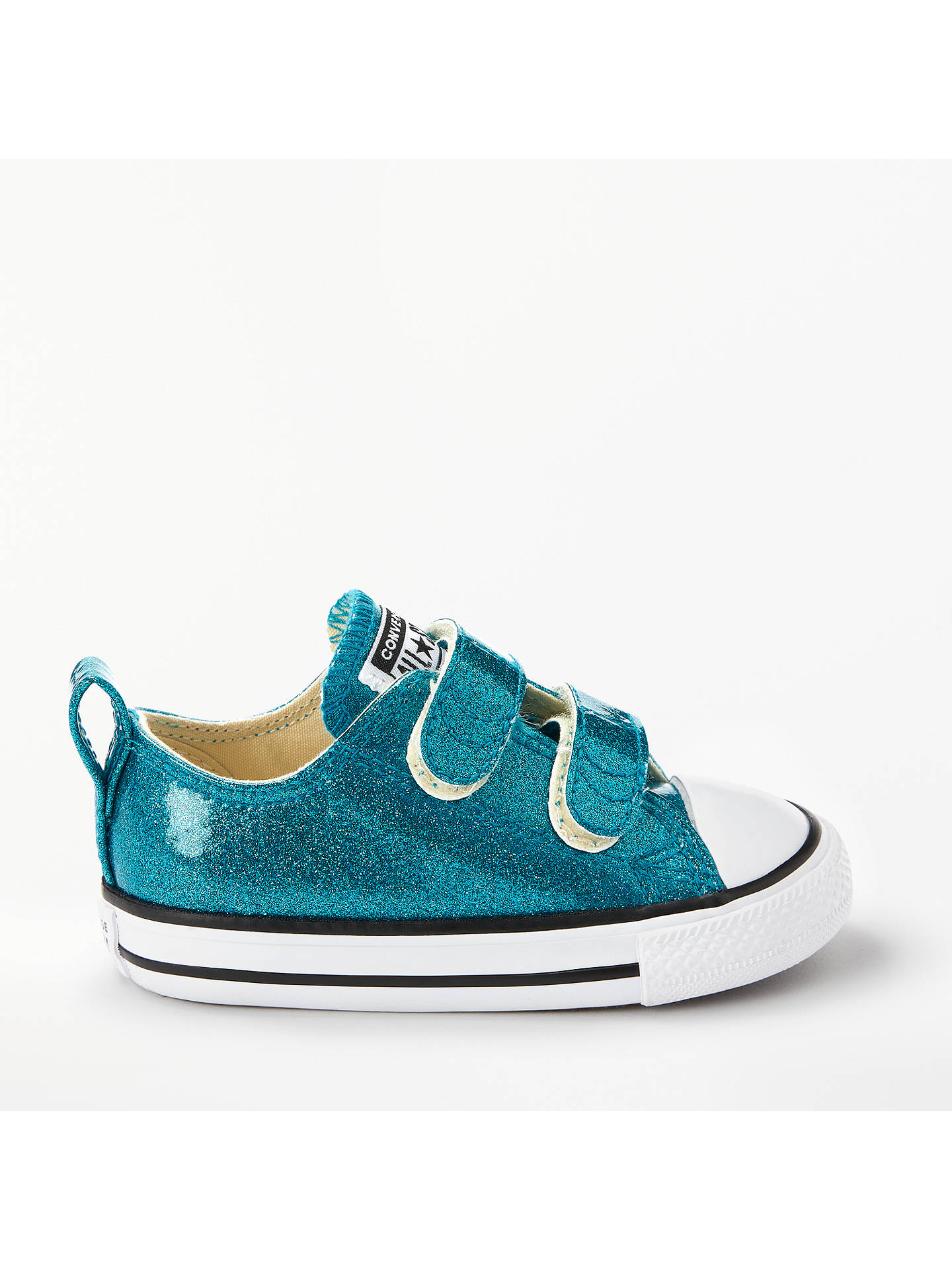 db3ec67e9f5a Converse Children s Chuck Taylor All Star Ox Riptape Trainers at ...