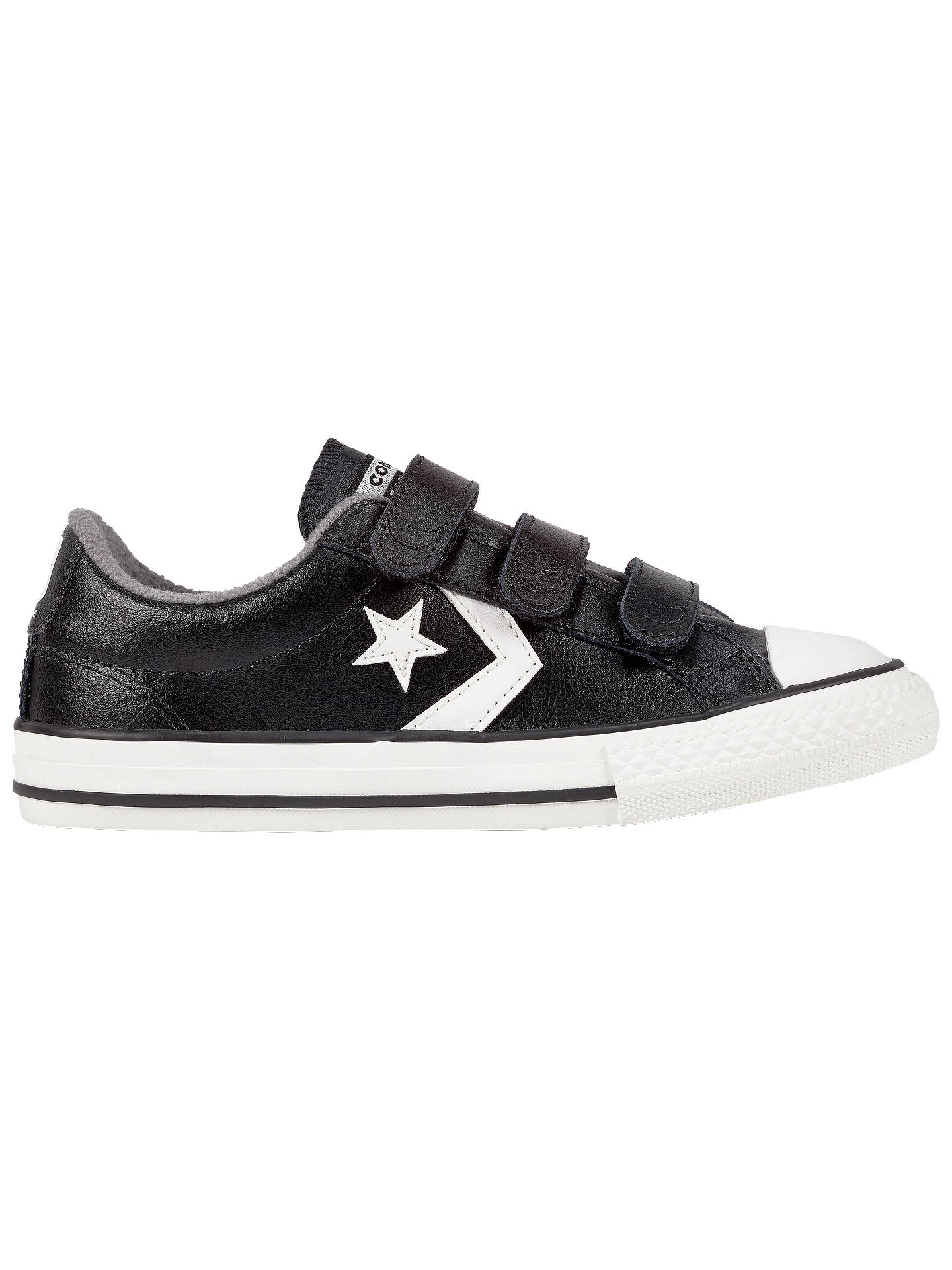 bca99a7bf57c Converse Children s Star Player 3V Trainers at John Lewis   Partners