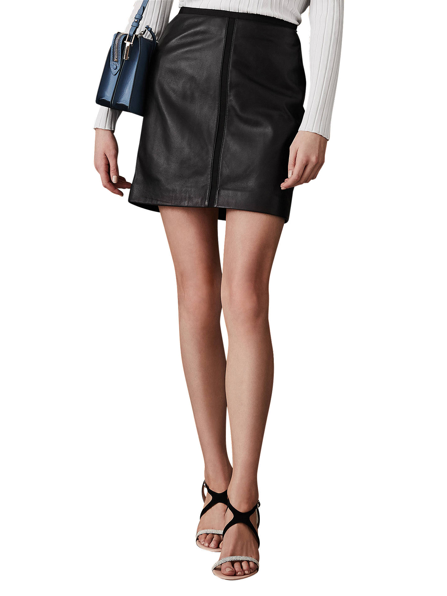 33b0c2935dd41d Buy Reiss Maisie Leather Pencil Skirt