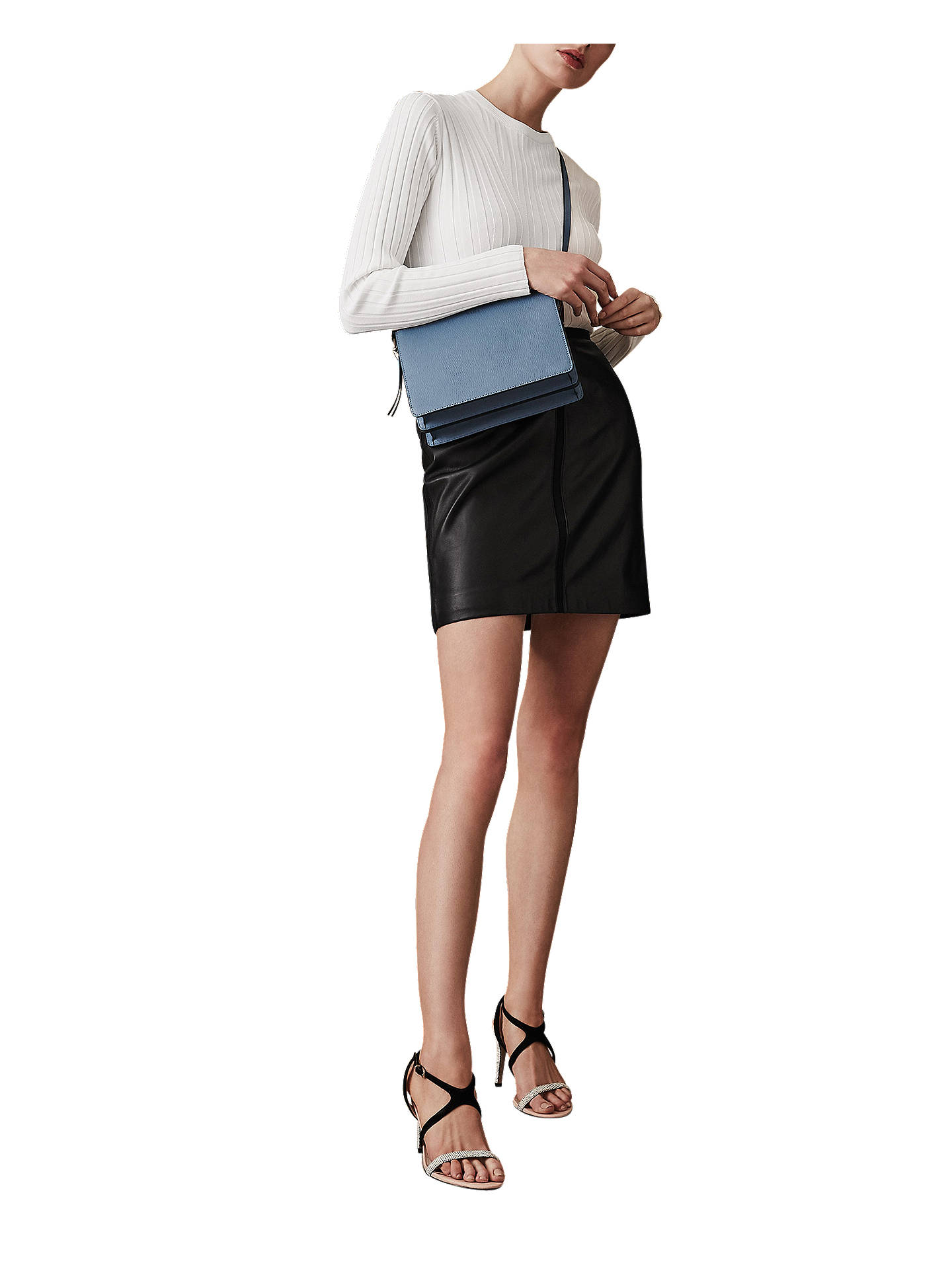 cdc5939f84c8d9 ... Buy Reiss Maisie Leather Pencil Skirt
