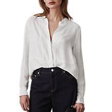 Buy Reiss Anna Long Sleeve Blouse Online at johnlewis.com