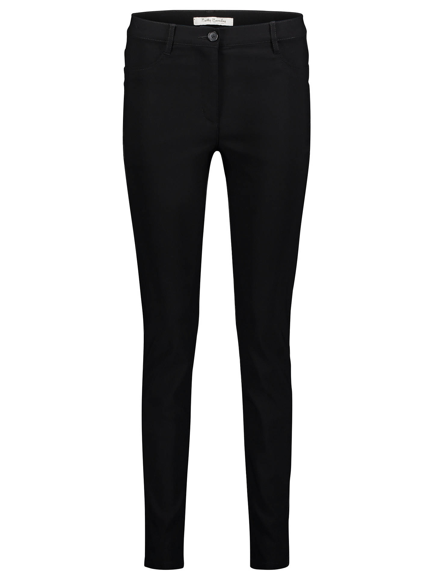 BuyBetty Barclay Two Pocket Jeans, Black, 8 Online at johnlewis.com