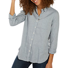 Buy Fat Face Olivia Marl Shirt, Chambray Online at johnlewis.com