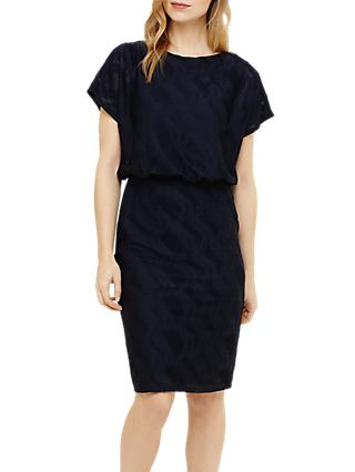 Phase Eight Temple Textured Blouson Dress