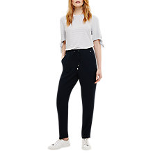 Buy Phase Eight Anika Trouser, Navy Online at johnlewis.com