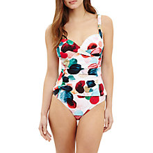 Buy Phase Eight Artist Palette Spot Print Tankini Brief, Ivory/Multi Online at johnlewis.com