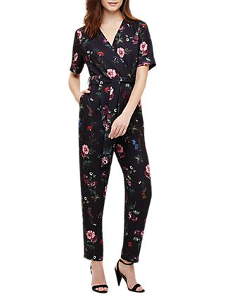 Phase Eight Alicia Floral Jumpsuit, Navy/Multi