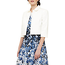 Buy Phase Eight Maya Jacket, Ivory Online at johnlewis.com