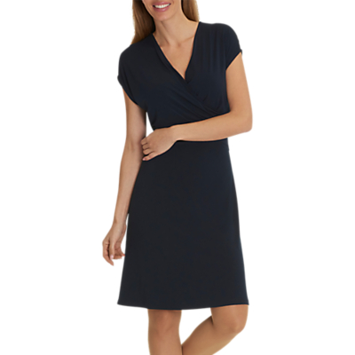 Betty Barclay Cap Sleeve Jersey Dress, Dark Sky