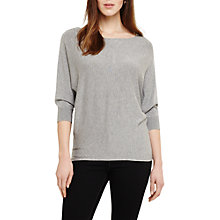 Buy Phase Eight Sparkle Becca Batwing, Light Grey Online at johnlewis.com