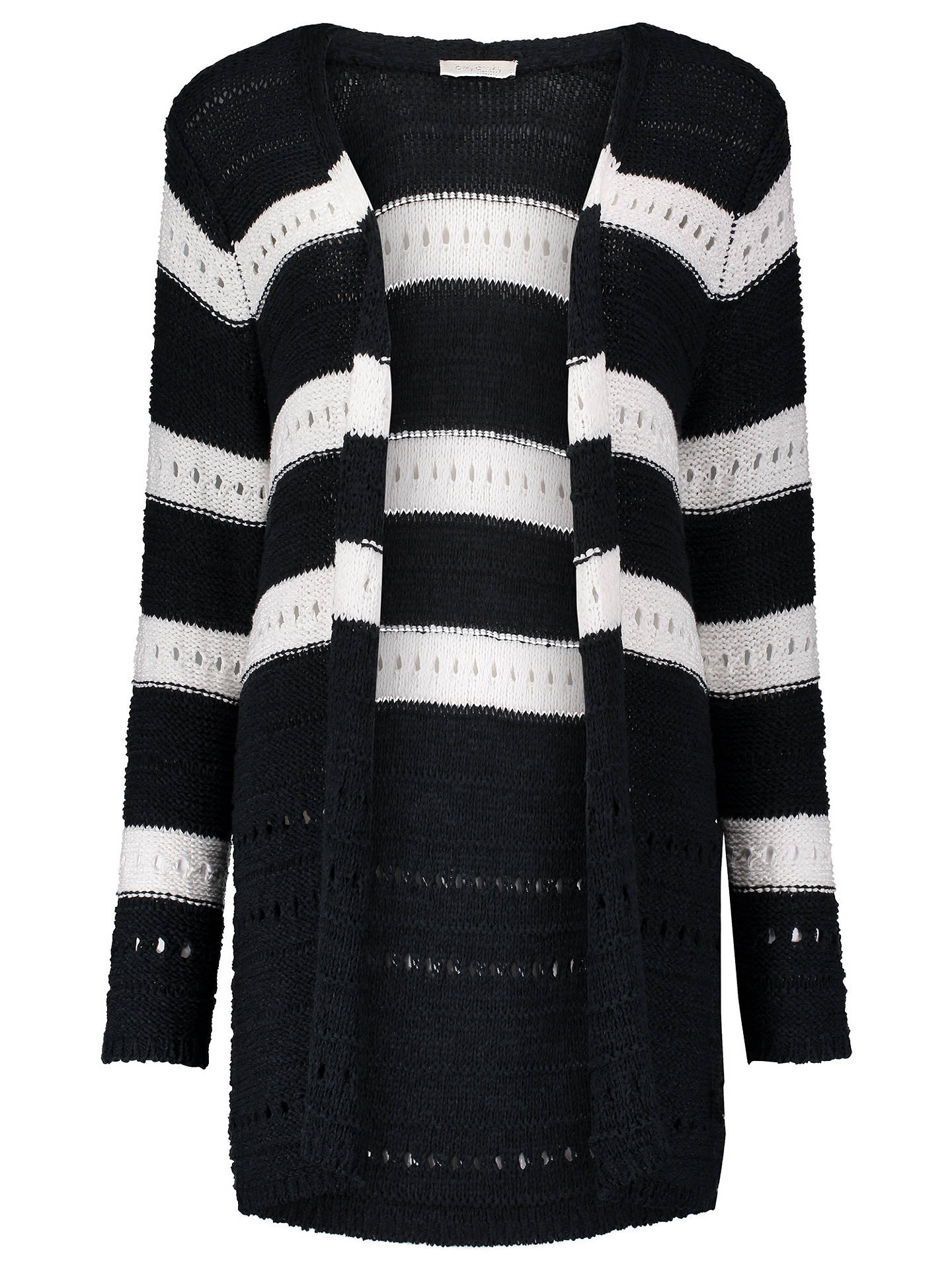 Buy Betty Barclay Longline Knitted Cardigan, Dark Sky, 10 Online at johnlewis.com