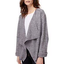 Buy White Stuff Short Wool Blend Jacket, Grey Online at johnlewis.com
