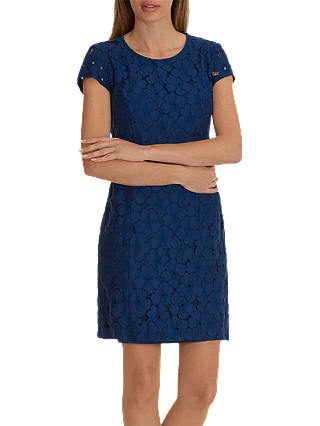Buy Betty Barclay Lace Shift Dress, Morning Sky, 10 Online at johnlewis.com