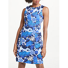 Buy Boden Retro Pocket Dress, Blues Bouquet Large Online at johnlewis.com