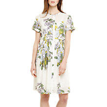 Buy Phase Eight Samara Floral Dress, Ivory/Multi Online at johnlewis.com