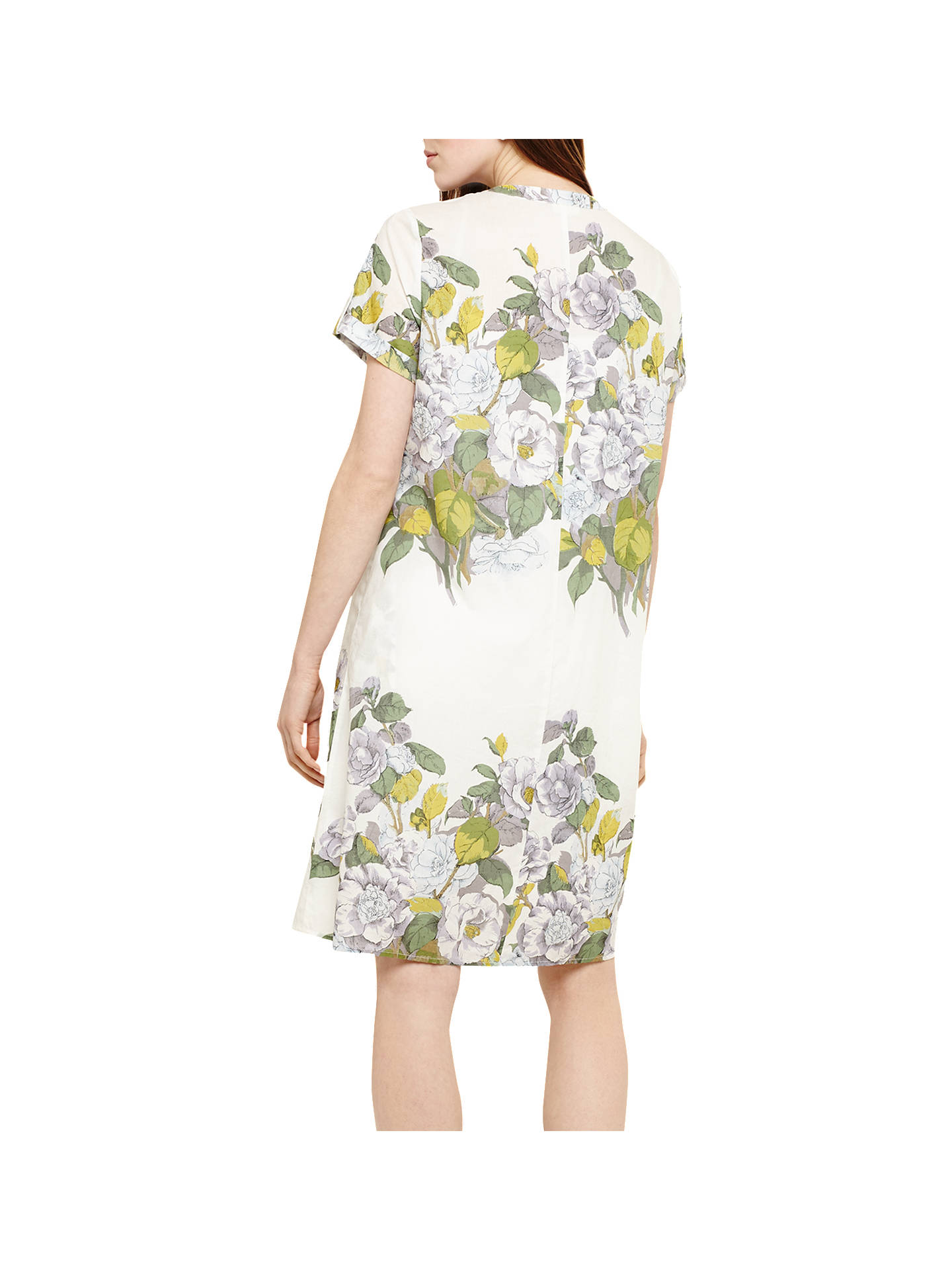 BuyPhase Eight Samara Floral Dress, Ivory/Multi, 8 Online at johnlewis.com