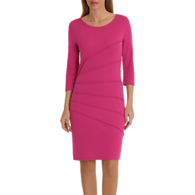 Betty Barclay 3/4 Sleeve Jersey Dress, Fuchsia