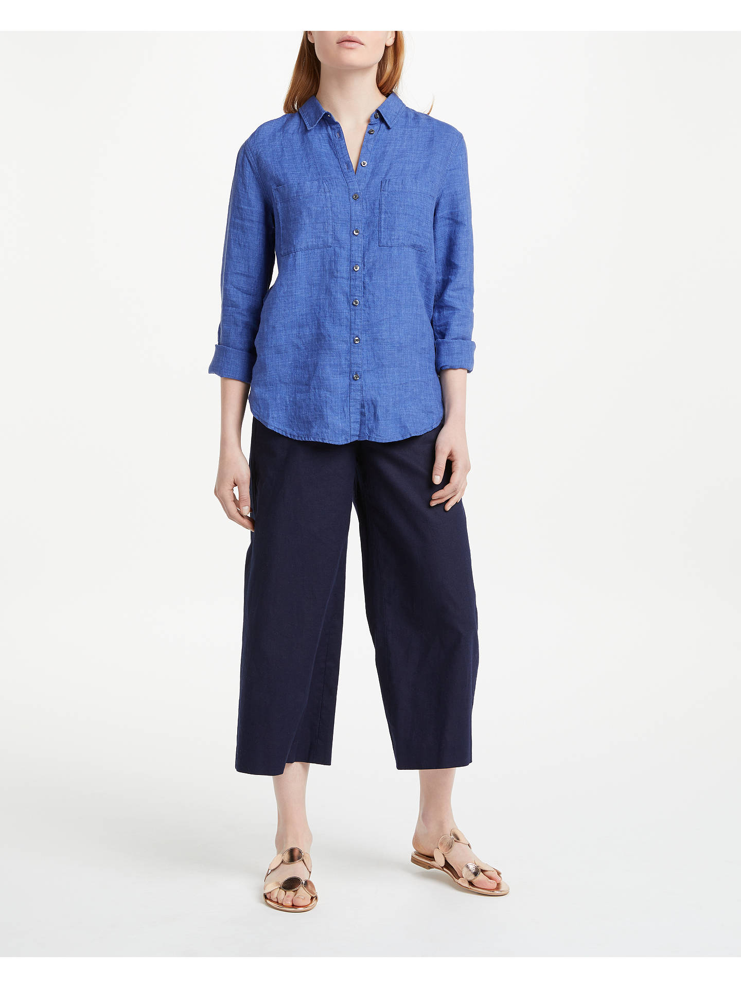 later discount buying now Boden Linen Shirt   Delave at John Lewis & Partners