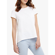 Buy Phase Eight Peace Peplum Top, White Online at johnlewis.com