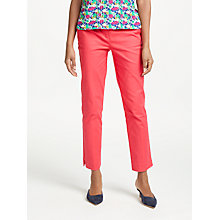 Buy Boden Richmond 7/8 Trousers, Hibicus Online at johnlewis.com