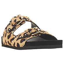 Buy Dune Lakes Embellished Leather Slider Sandals Online at johnlewis.com