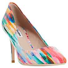 Buy Dune Aurrora Pointed Toe Court Shoes, Multi Online at johnlewis.com