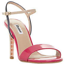 Buy Dune Matilde Stiletto Heel Sandals, Pink Patent Online at johnlewis.com