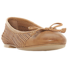 Buy Dune Hennah Woven Ballet Pumps Online at johnlewis.com