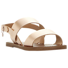 Buy Dune Wide Fit Lowwpez Double Strap Sandals Online at johnlewis.com