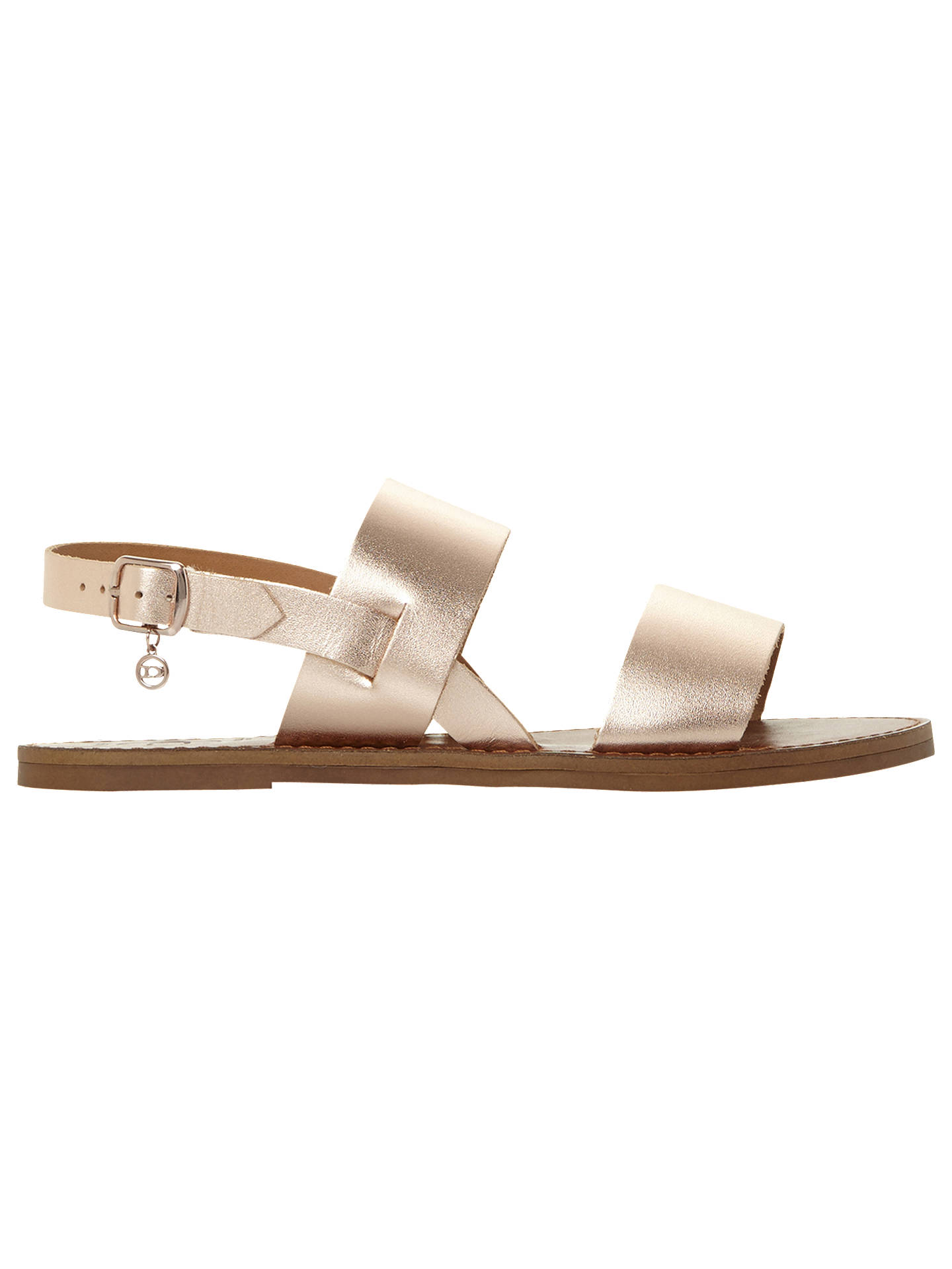 d806eb3f9e6 Dune Wide Fit Lowwpez Double Strap Sandals at John Lewis   Partners